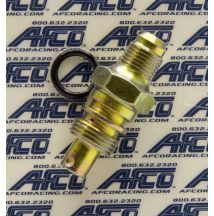 Power Steering Pump Fitting Pressure Orifice AFCO RACING PRODUCTS 37130