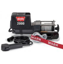 DC2000 Winch 2000lb w/Hawse Fairlead WARN 92000