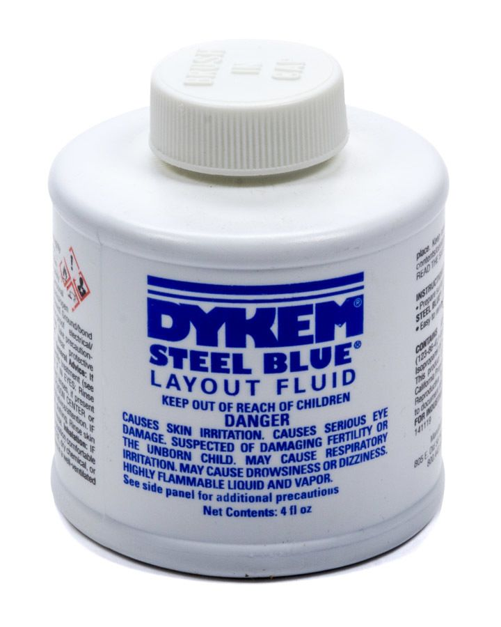 Dykem Layout Fluid 4oz Brush in Cap ALLSTAR PERFORMANCE ALL12070